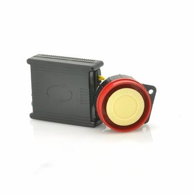 2-Way Motorcycle Alarm w/ 100 Meter Range