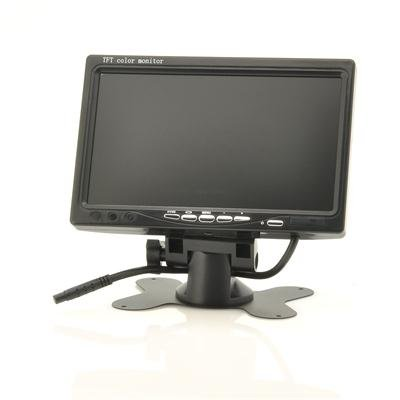 7 Inch LCD Monitor + In Car Headrest