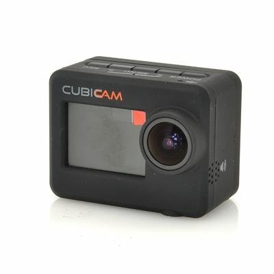 Full HD Sports Camera w/ Body Strap - Cubicam