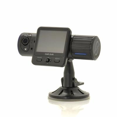 Dual Camera Car DVR with Nightvision