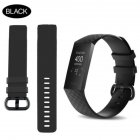 for Fitbit Charge 3 Replacement Band Silicone Strap Sports Wristband black_small