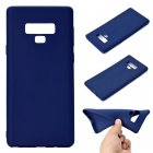 for Samsung NOTE 9 Cute Candy Color Matte TPU Anti-scratch Non-slip Protective Cover Back Case Navy