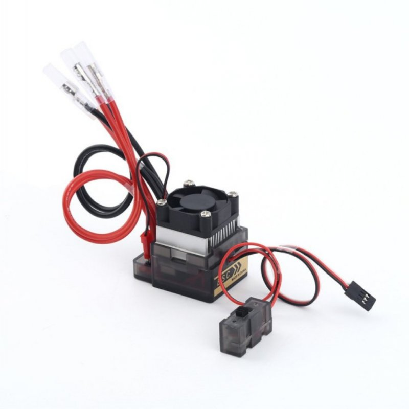 for Truck RC 320A High Voltage Electronic Speed Controller Regulator Low Voltage Waterproof Protection HSP Molding Parts