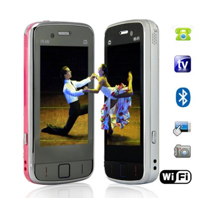 WiFi Quadband Dual-SIM Touchscreen Cellphones