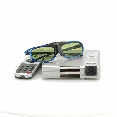 3D HD Video Projector with DLP - CinemaX
