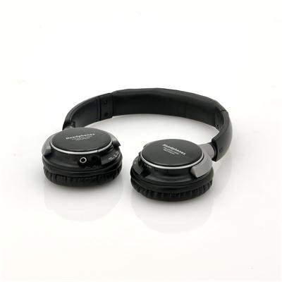 Headphones with Built-In MP3 + FM - SoundMax