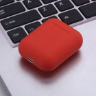 i12tws Macaron Wireless Bluetooth Headset Sport Earphones Touch Earbuds red