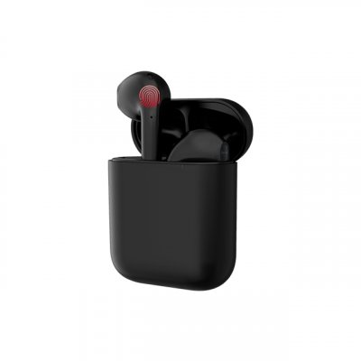 i17 Tws Touch Control Earphone Black