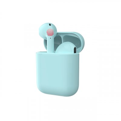i17 Tws Touch Control Earphone Green