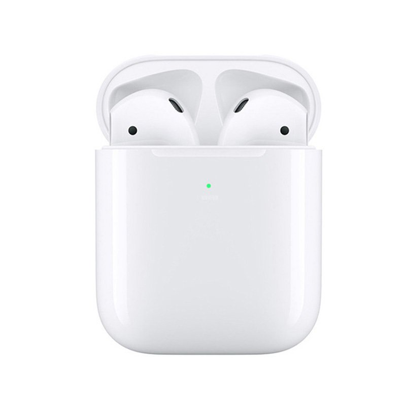 i500 TWS Wireless Earphone 5D Super Bass Wireless Charging Bluetooth 5.0 for Smartphone white