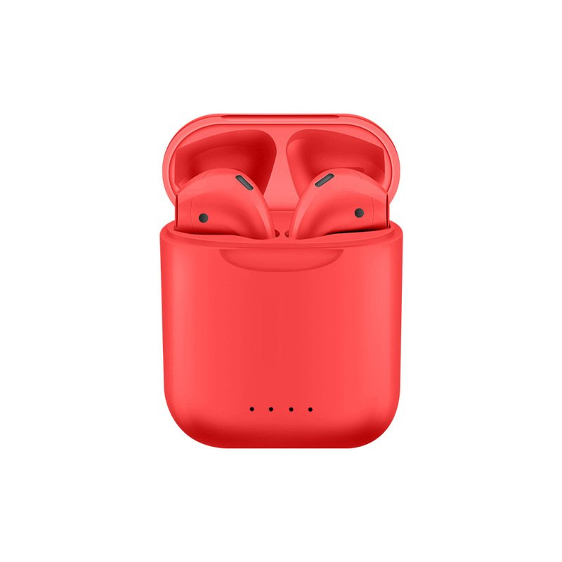 i88 TWS Bluetooth 5.0 Earphone Red