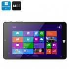iDea 8 inch Windows 8 1 Bing Tablet PC with 8 Inch Screen Intel Z3735G Quad Core 1 33GHz CPU  16GB Memory  Micro SD Slot  OTG  font and rear camera