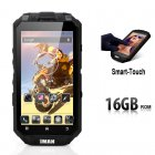 iMAN i3 N Rugged Smartphone has a Quad Core CPU  IP68 Waterproof Rating  13MP Rear Camera and Smart Touch