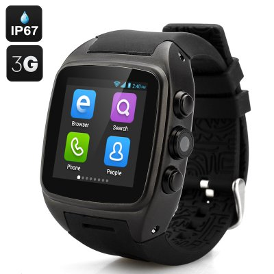 iMacwear M7 Smart Watch Phone (Black)