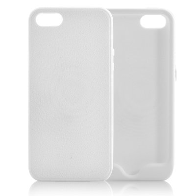 Soft Rubber iPhone 5 Case White