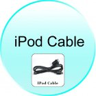 iPod Cable for CVET C57 Road Tiger T1 High Def Touchscreen GPS