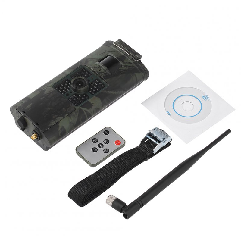 infrared camera 2G GSM MMS SMS SMTP Trail Camera Mobile 16MP Night Vision Wireless Wildlife Surveillance HC700M Camouflage
