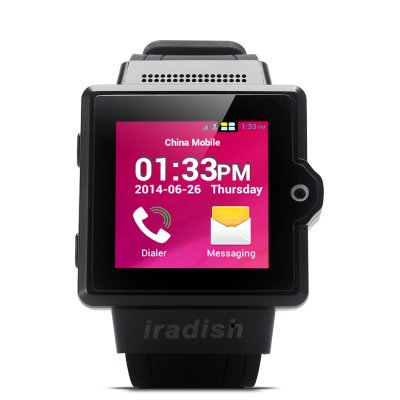 iradish i6 Android Watch Phone (Black)