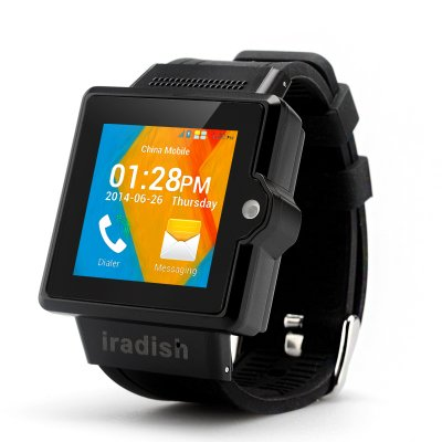 iradish i6S Android Watch Phone (Black)