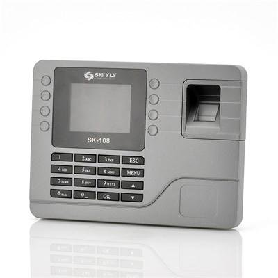 Color Screen Fingerprint Attendance System