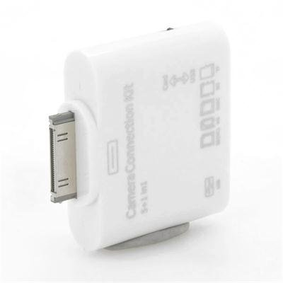 Memory Card Reader + USB Port for iPad