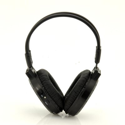 Folding Headphone MP3 Player w/ FM Radio