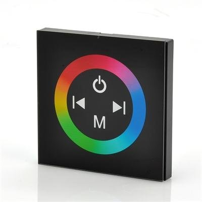 Glass Touch Panel RGB LED Controller