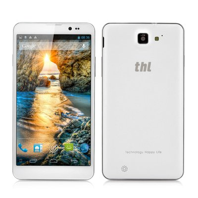 thl T200 MTK6592 True Octa-Core Phone (White)