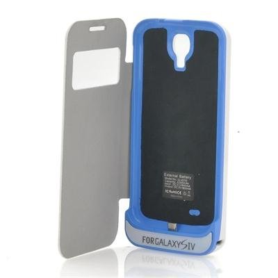 4200mAh External Battery Case for Samsung S4