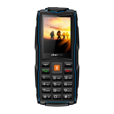 Vkworld V3 Multifunction Mobile Phone Blue
