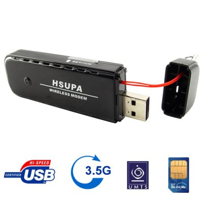 HSUPA Wireless USB Modem for Laptops