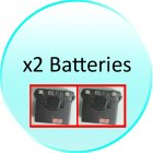 x2 Battery for CVESQ PG5118 220V B Professional Walkie Talkie Set