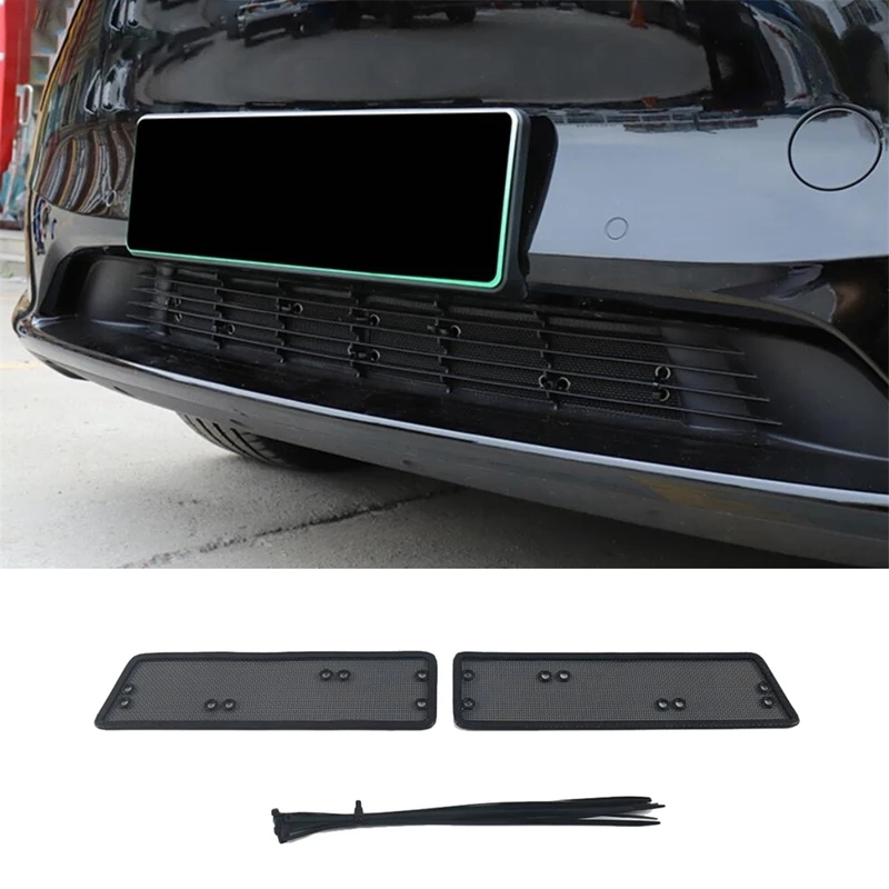 Car Trunk Guard Insect Guard Grid Attachment Compatible With Tesla Y Model With A / C Air Conditioning Intake As shown