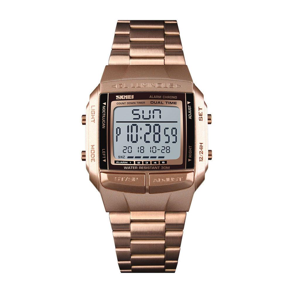 Men Luxury Watches Rose Gold
