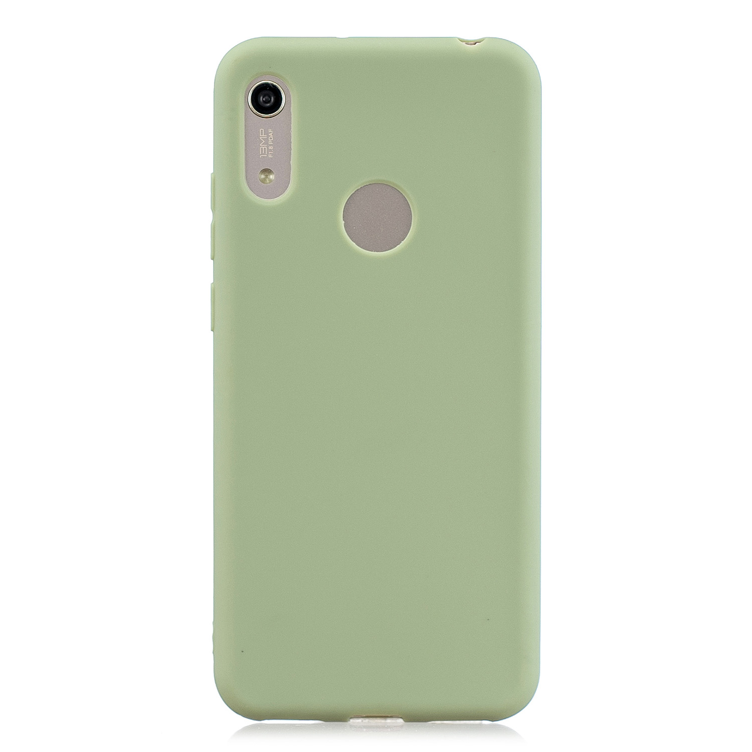 For HUAWEI Y6 2019 Lovely Candy Color Matte TPU Anti-scratch Non-slip Protective Cover Back Case 10