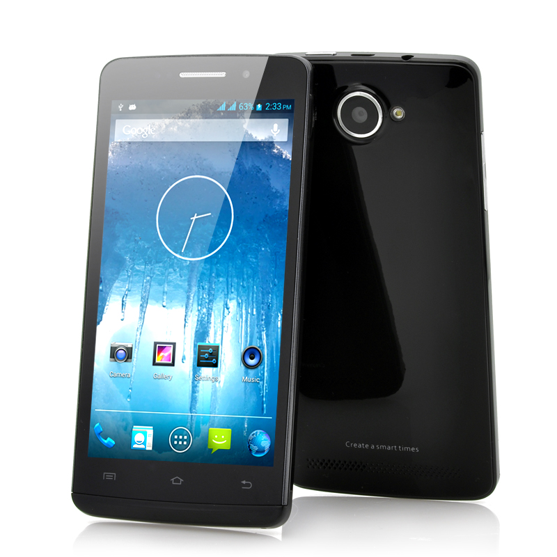 5 Inch Android 4.2 4 Core Phone -Polar (B)