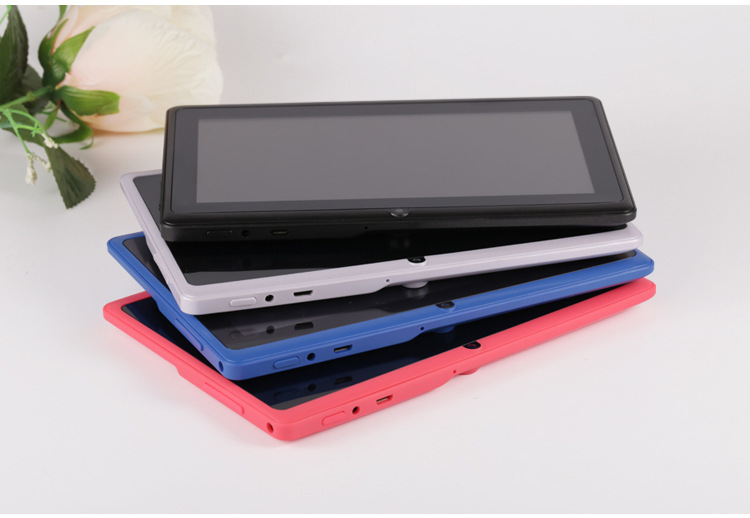 7 inch Tablet PC 1024x600 HD Yellow_512MB+8GB