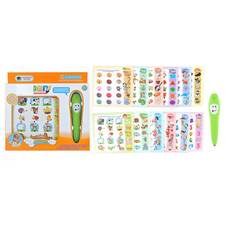 Kids Learning Machine Common Sense Cognitive Intelligence Logic Learning Pen Educational Toy YS2607A