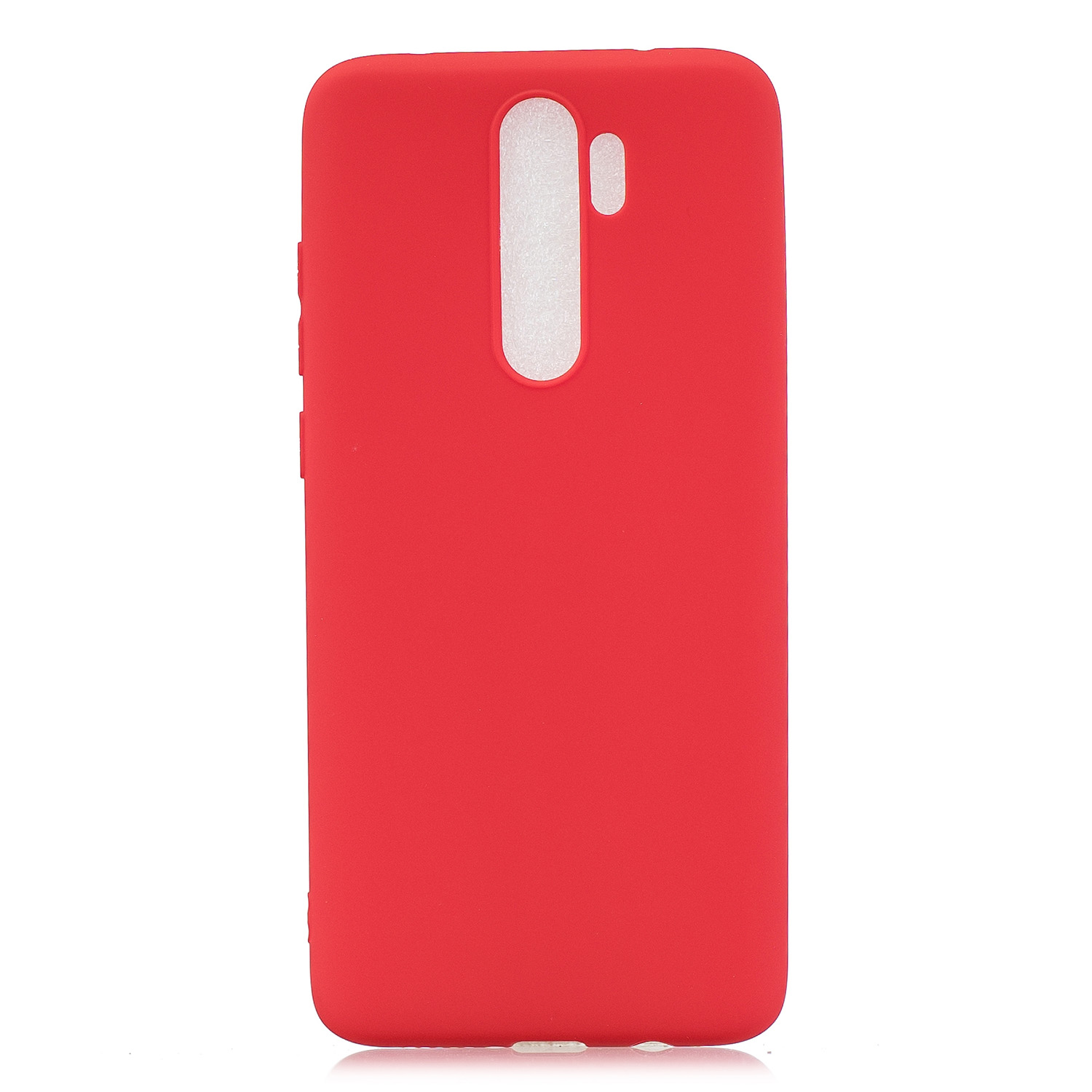 For Redmi NOTE 8 NOTE 8 Pro Soft Candy Color Frosted Surface Shockproof TPU Back Cover Mobile Phone Case red