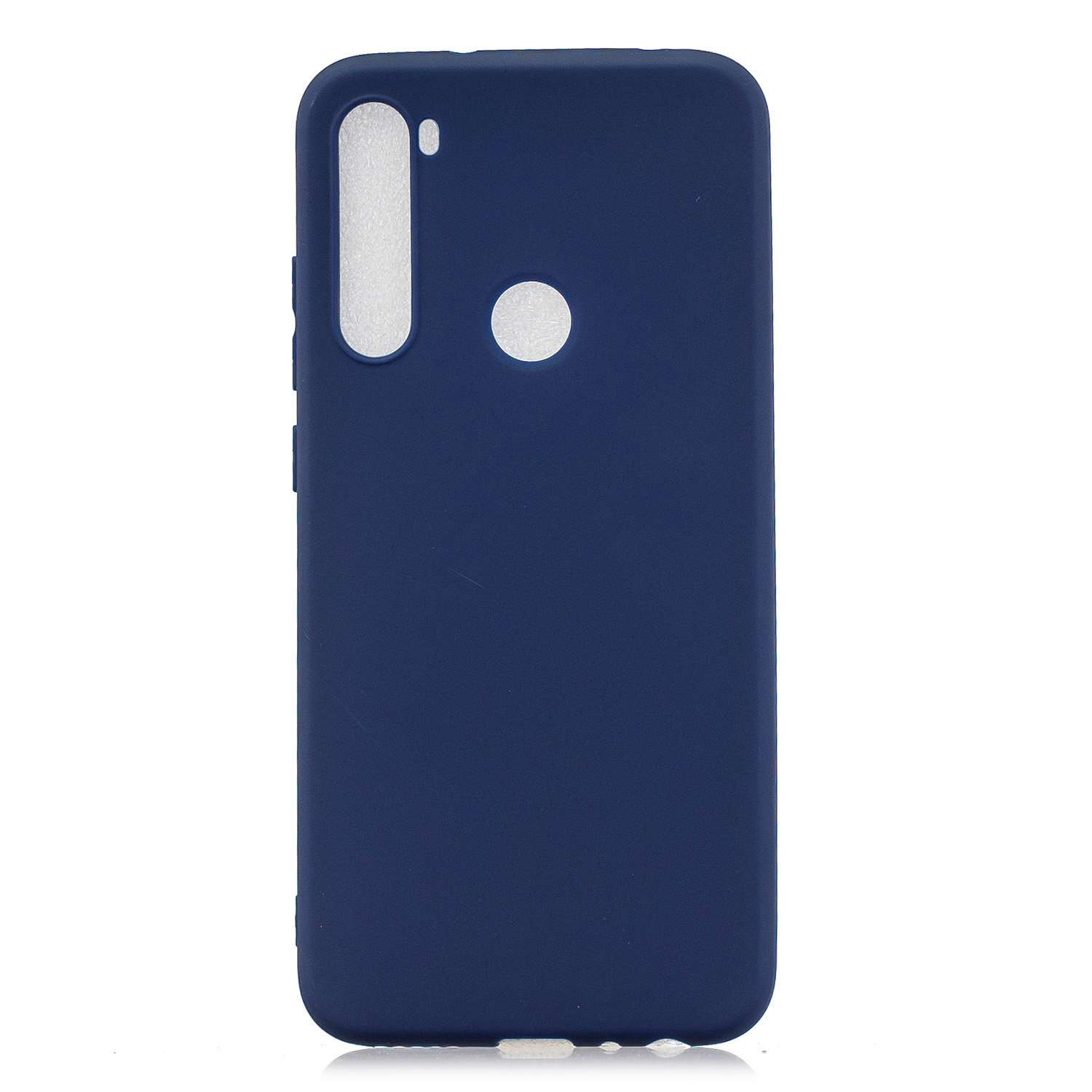 For Redmi NOTE 8 NOTE 8 Pro Soft Candy Color Frosted Surface Shockproof TPU Back Cover Mobile Phone Case Navy