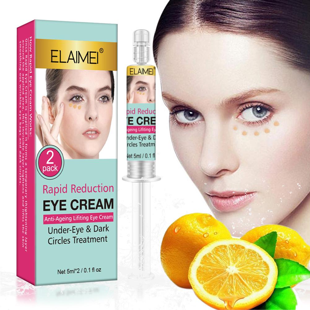 Eye Cream Anti-Wrinkle Remove Puffiness Dark Circles Eye Fine Lines Firming Nourish Eye Care 2 pieces