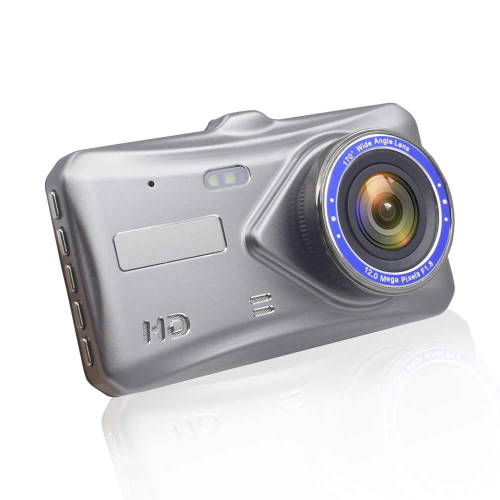 1080P Car  Camera - 170 Degree FOV, Parking Camera, Motion Detection, G-Sensor, Loop Recording, Time Stamp