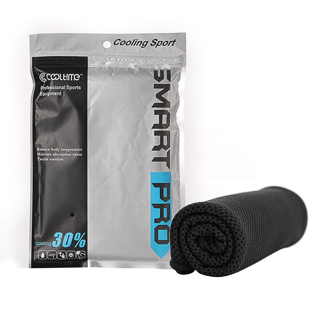 Cooling Towel Super Absorbent Cooling Towel for Sports black_30*100