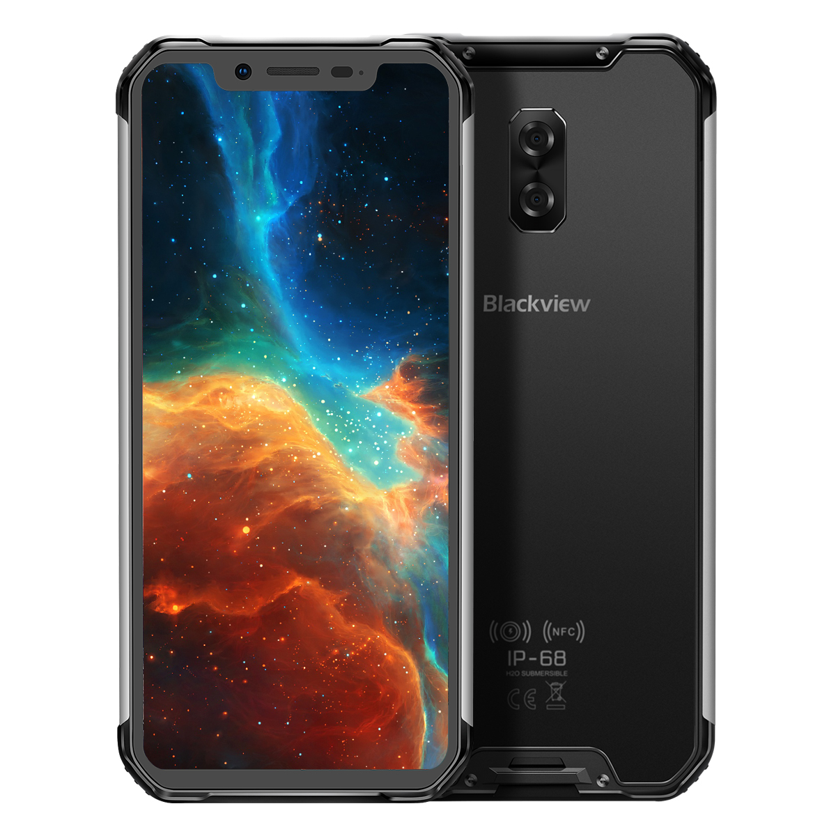 Blackview 2019 BV9600 4GB+64GB Silver