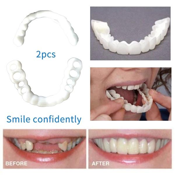 Whitening Dentures Braces