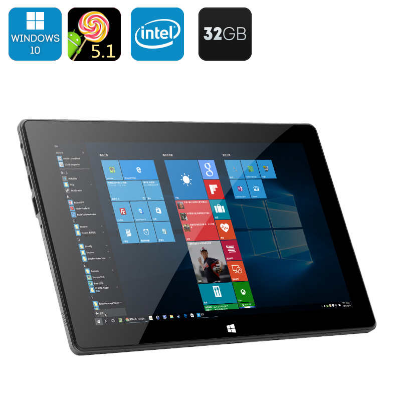 Windows 10 + Android 5.1 Tablet PC