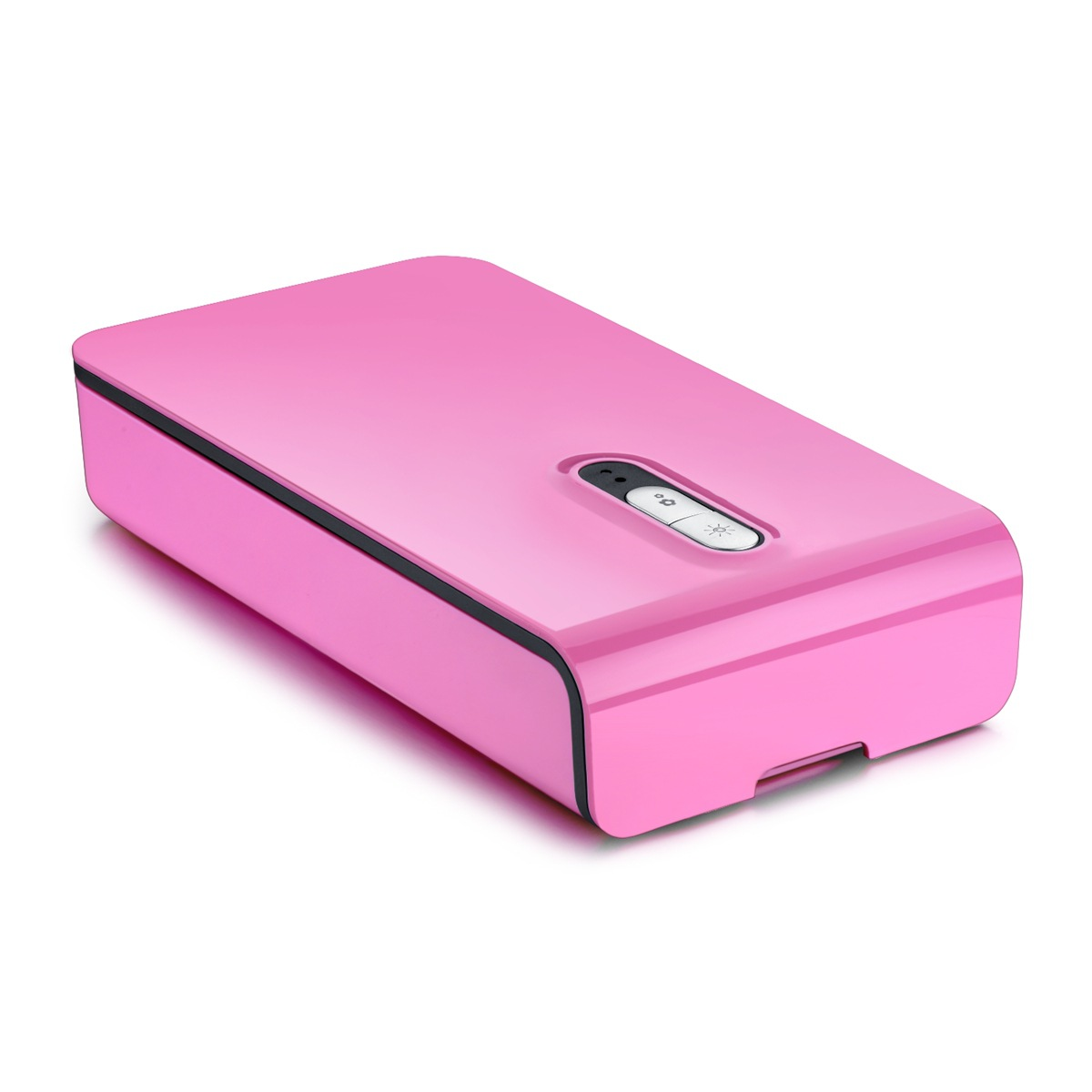 Multi-function Plastic UV Sterilizer Case Box Blue Portable for Mask Mobile Phone Watch Jewelry Pink