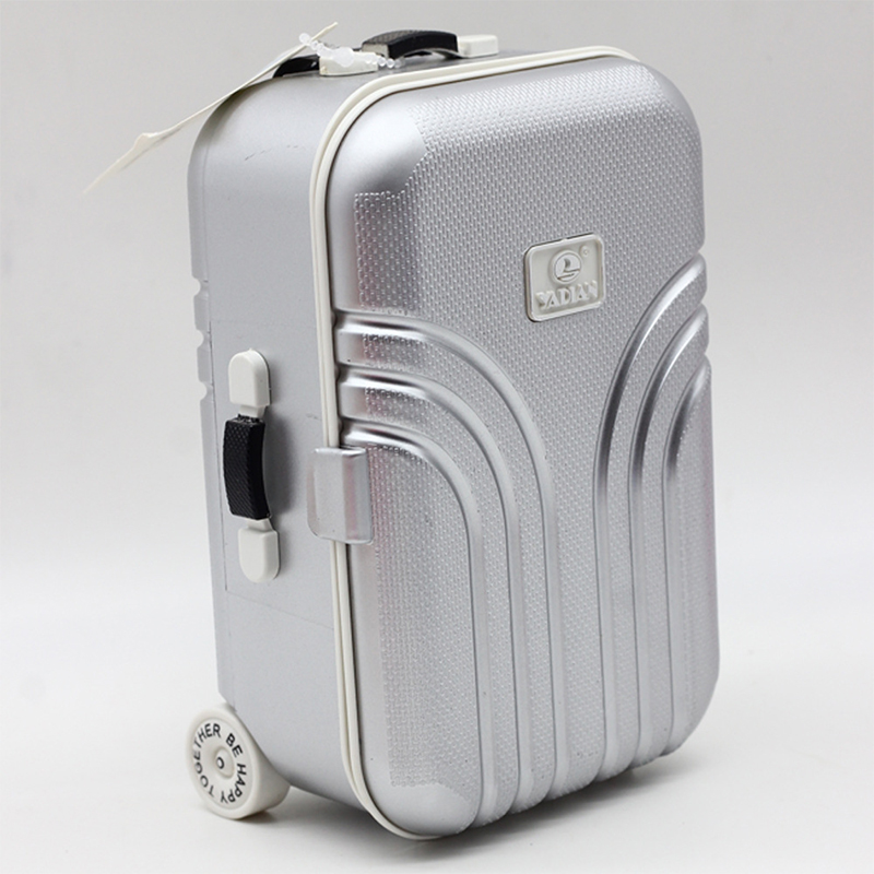 Cute Rolling Suitcase Mini Luggage Box