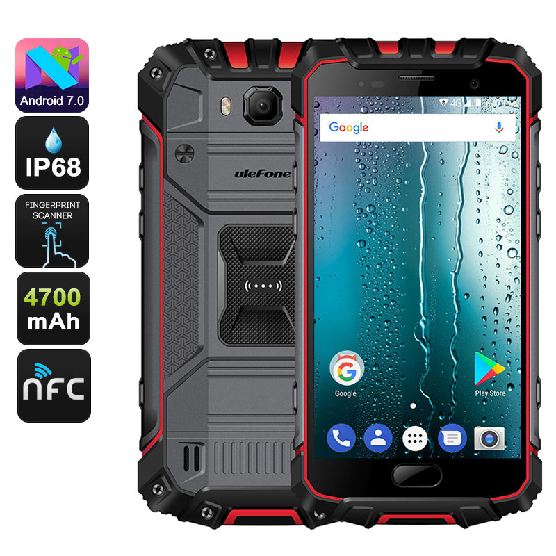Ulefone Armor 2S Android Phone (Red)