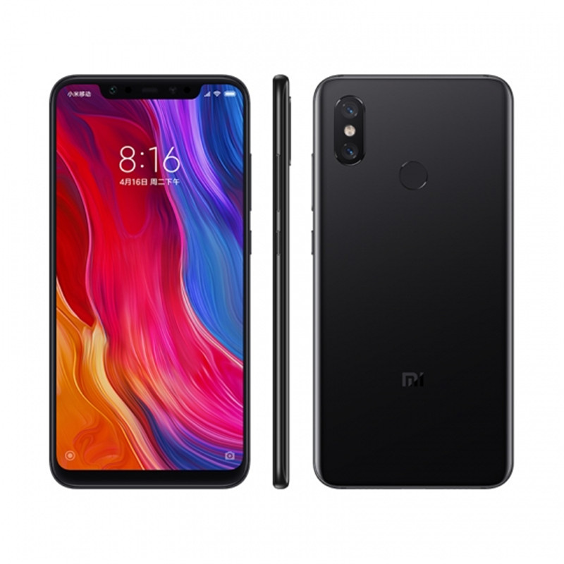 Xiaomi Mi 8 Android Phone 6+128GB Black